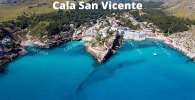 Cala San Vicente - Cala San Vicenç - Mallorca