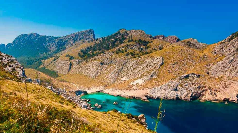 cala Figuera en Formentor