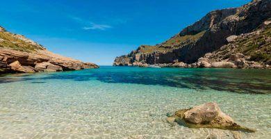 cala figuera en peninsula de Formentor
