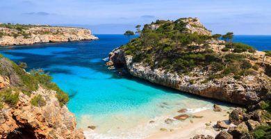 playa Caló des Moro Mallorca
