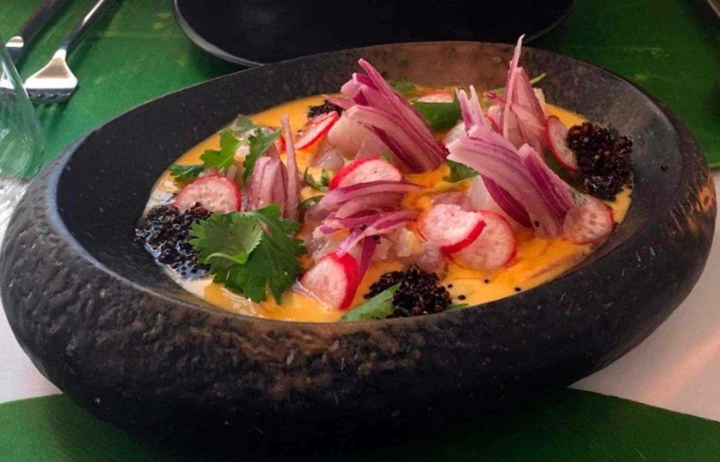 un plato del restaurante Millo en Santa Catalina