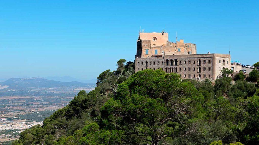 Santuari de Sant Salvador en Mallorca