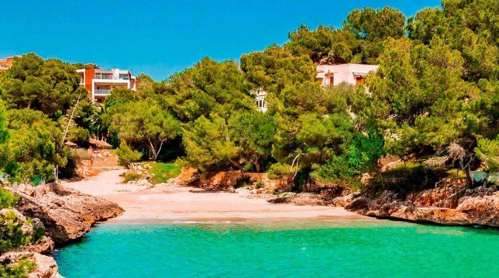 playa de Cala Serena en Mallorca