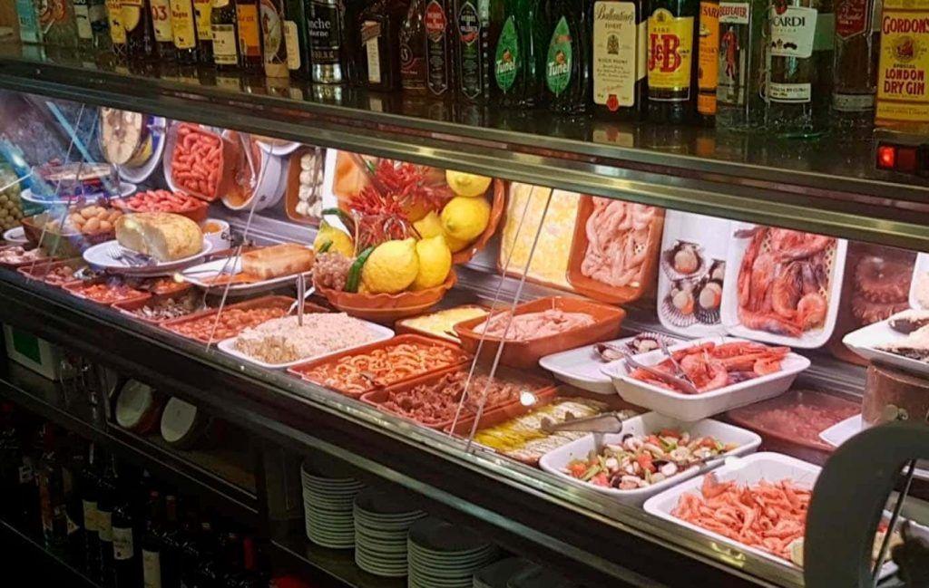 Tapas del Bar Andaluz del el Arenal de Palma