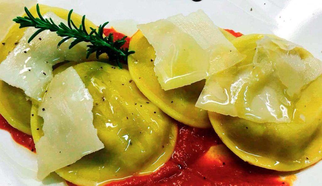 un plato de pasta del Bukaro Ristorante de Palma