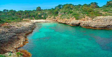 Cala Brafi, una pequeña cala virgen - Mallorca