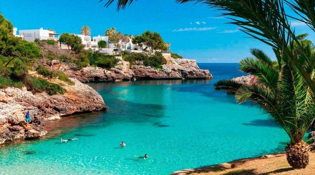 playa de Cala Egos en Mallorca