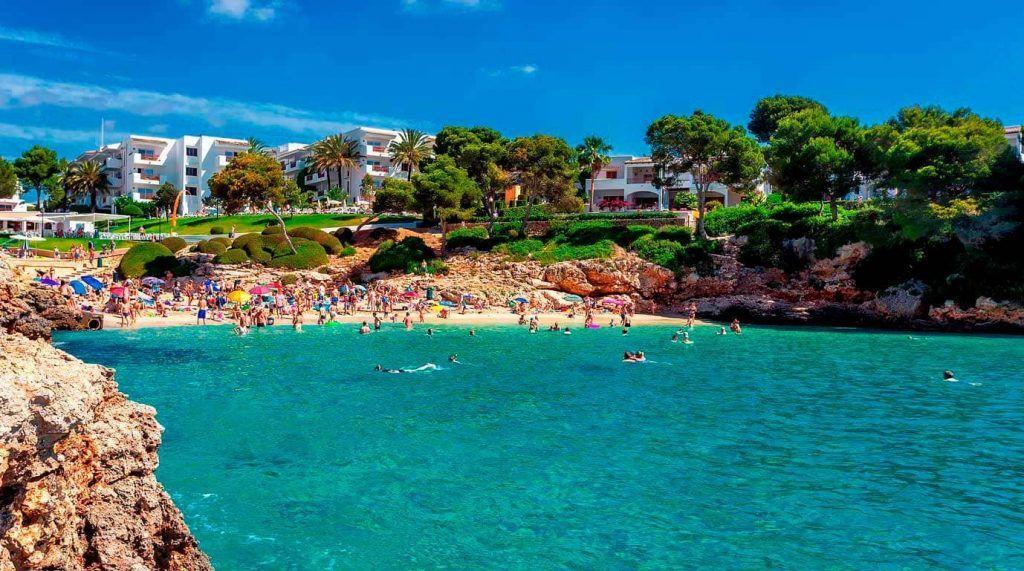 playa de Cala Esmeralda - Mallorca