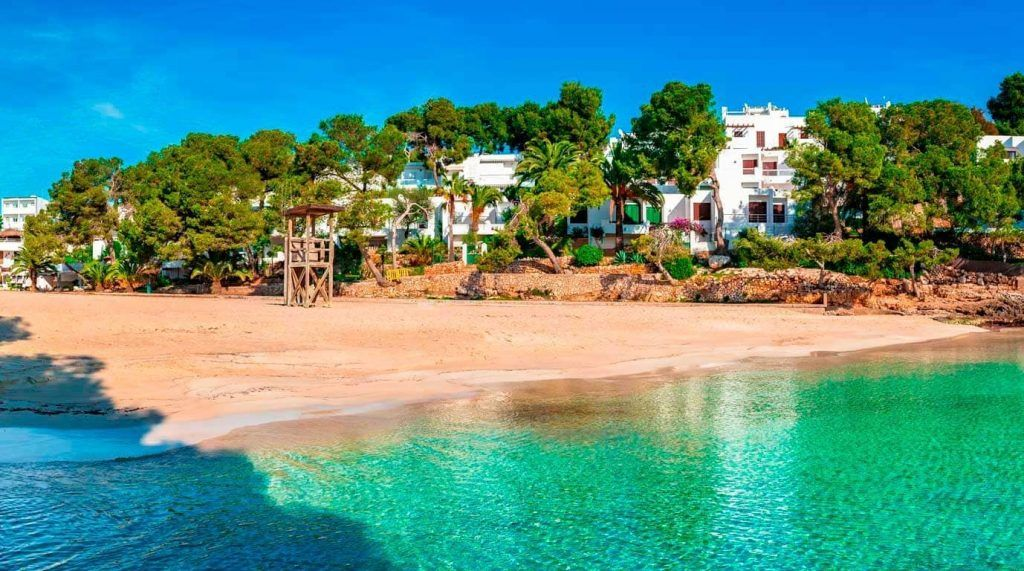 playa de Cala Gran en Mallorca