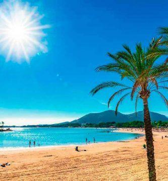 Playa de Alcudia, Mallorca