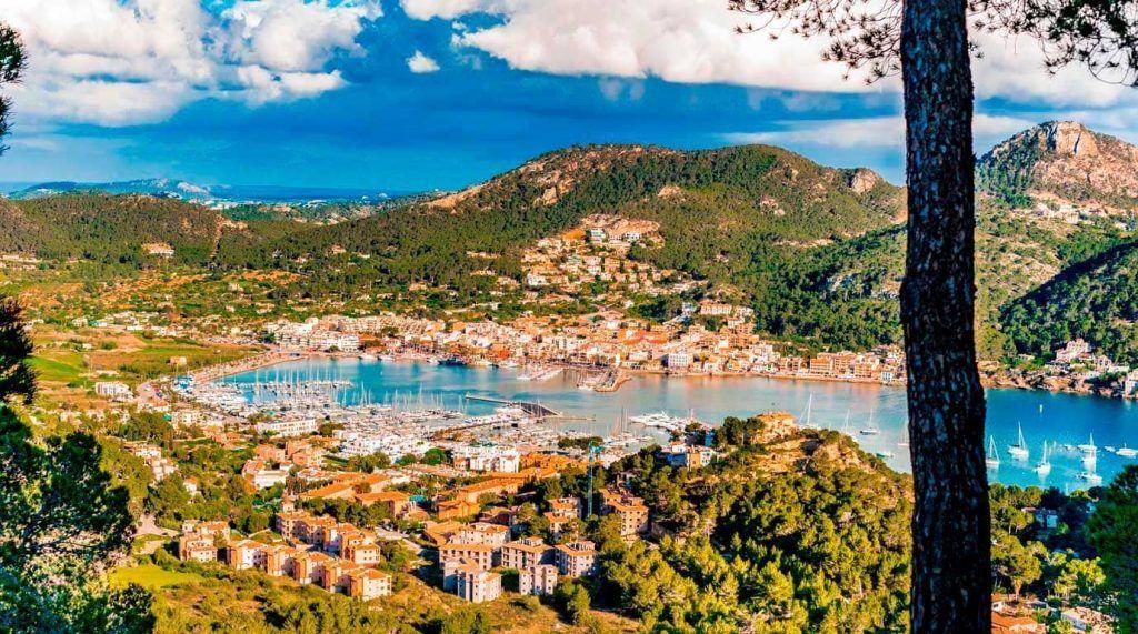 vista panoramica de es Port de Andratx