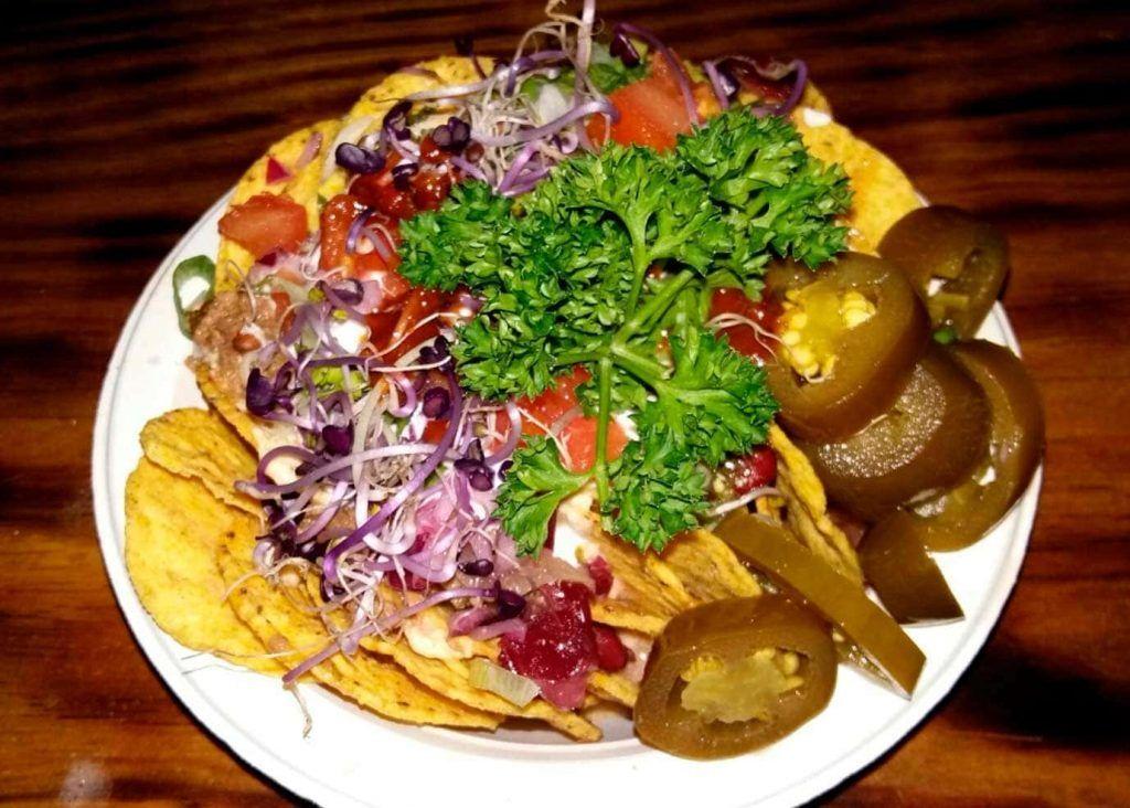un plato del restaurante mexicano 7 Machos de Palma