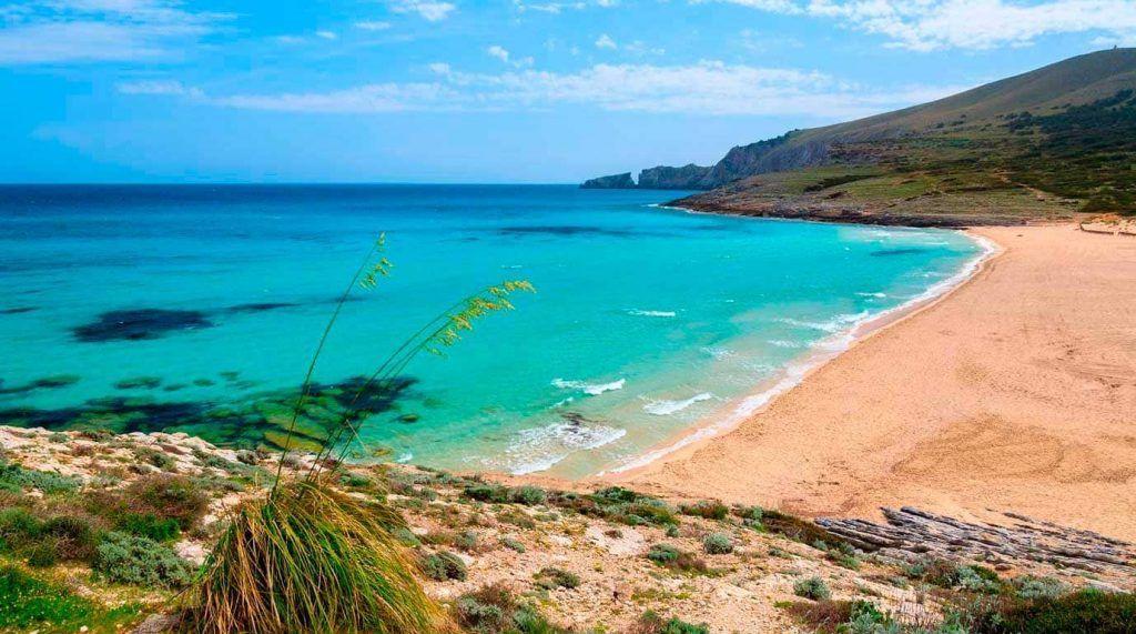 playa de Cala Mesquida, Mallorca