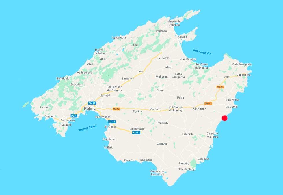 cala-murta-porto-cristo-mapa-point