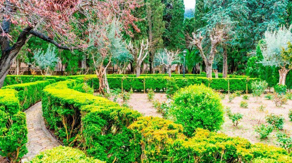 Jardins del Rei Joan Carles I en Valldemossa