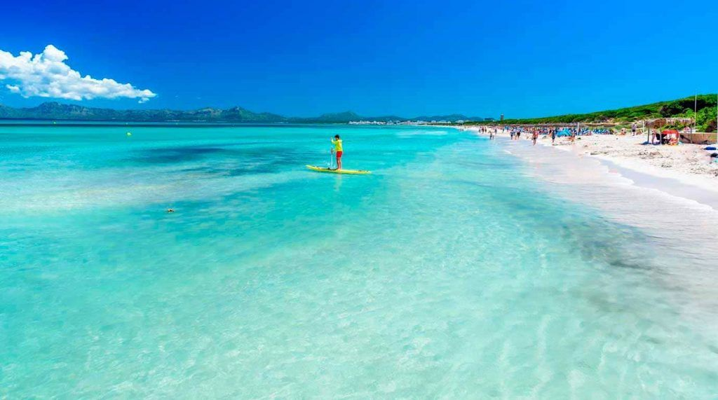 paddlesurf playa de muro