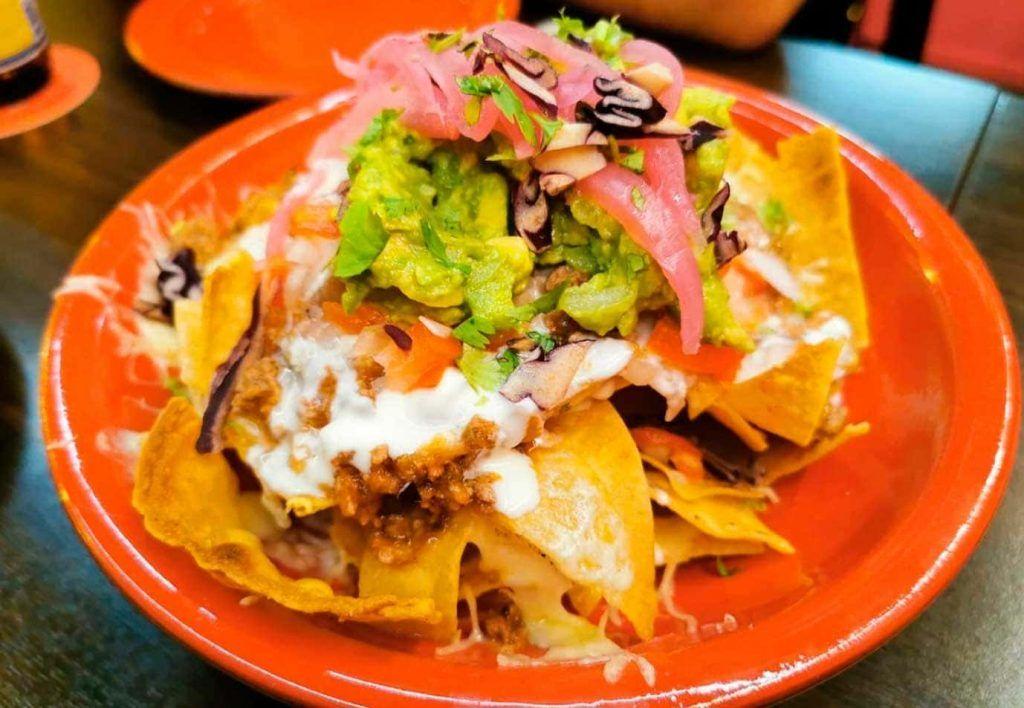 un plato del restaurante TaqueroMucho de Palma