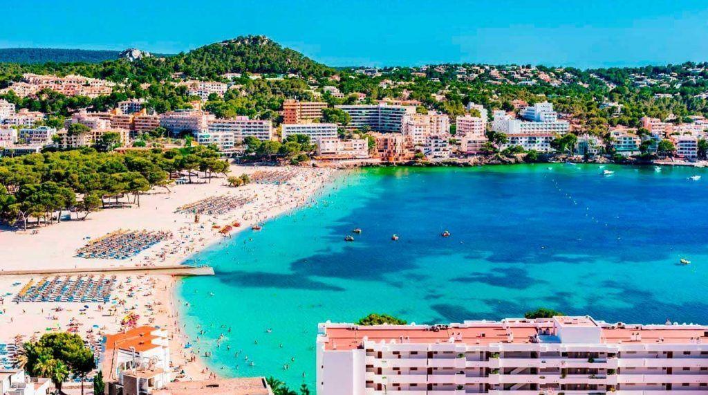 playa de Santa Ponsa, Mallorca