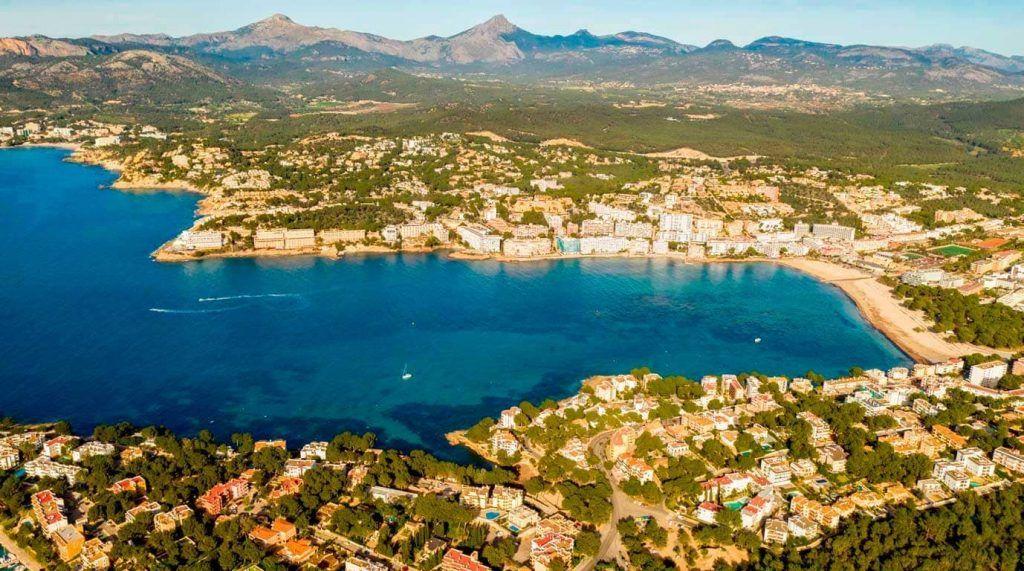 vista aérea de Santa Ponsa