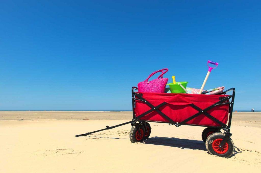 carro porta sillas playa