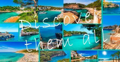 Discover all the coves of mallorca