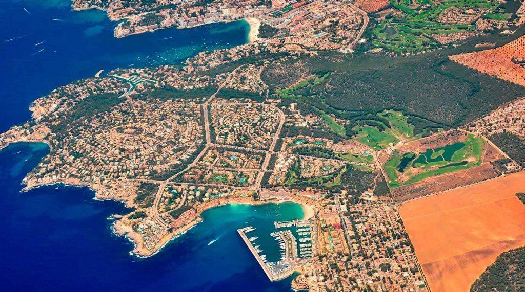 Vista aérea de El Toro y alrededores