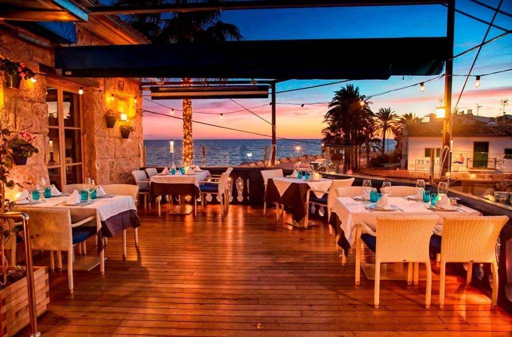 Restaurante Ola del Mar - terraza superior