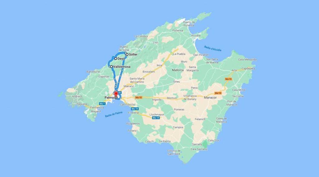 ruta-mapa-palma-valldemossa-deia-soller