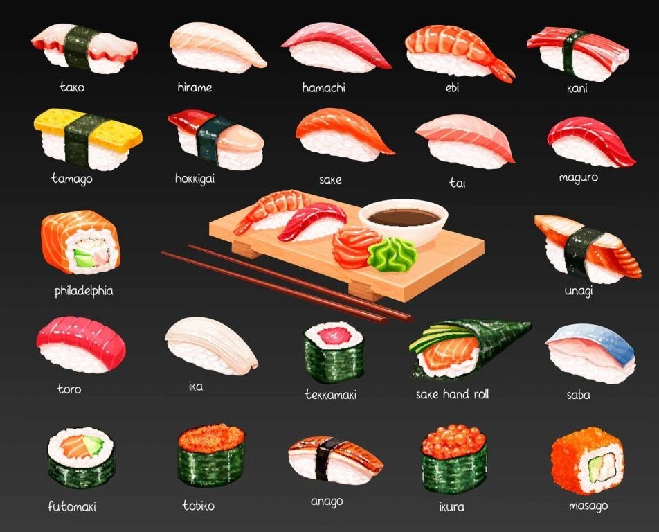 sushis-japoneses