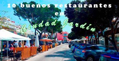 restaurantes en Ciudad Jardín